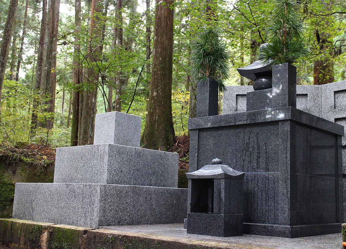 奥の院永代供養墓「禅定への道」